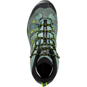 Salomon Quest Prime GTX Kengät Miehet, balsam green/urban chic/lime green